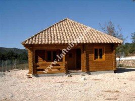 ready, wooden house construction