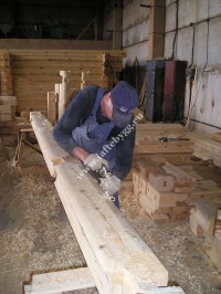Installation of wooden houses price